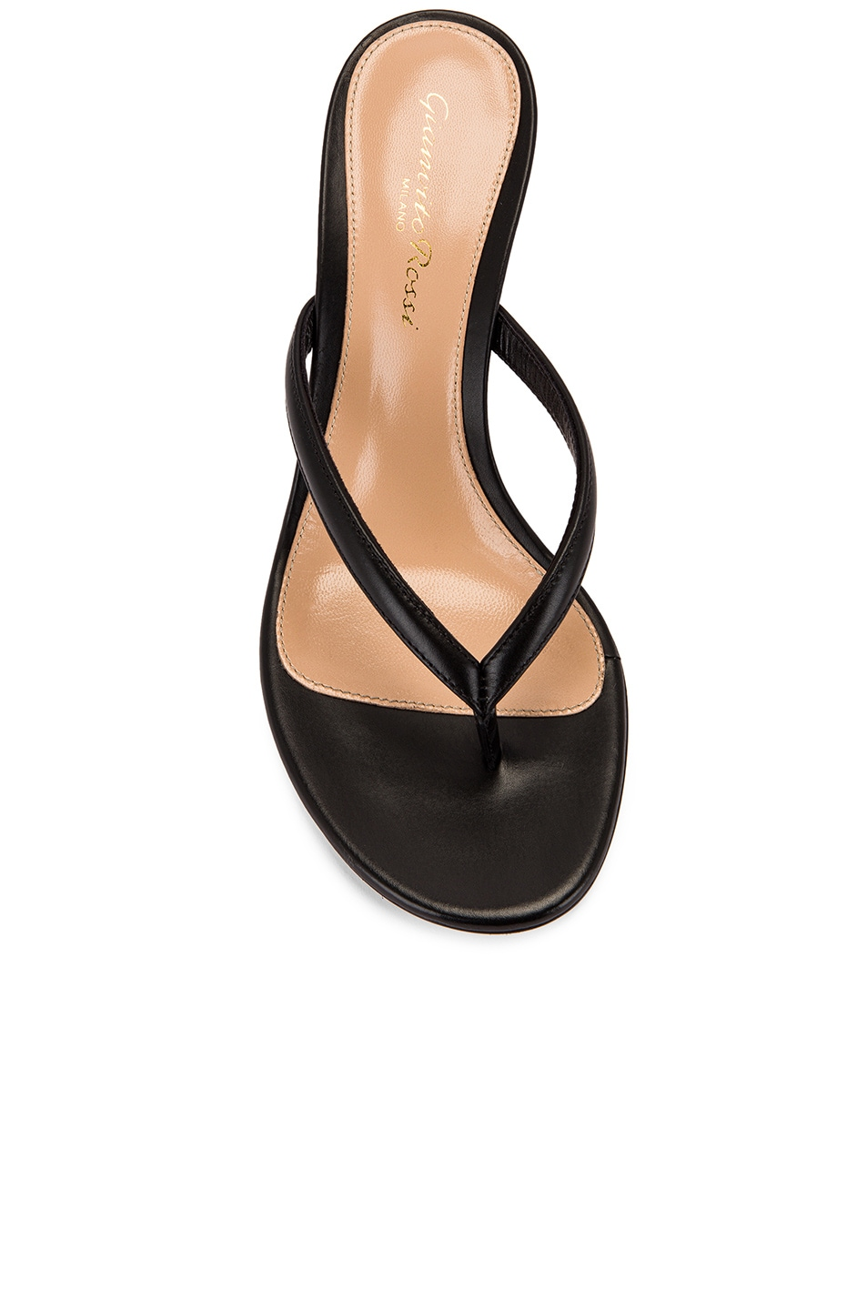 Image 4 of Gianvito Rossi Thong Sandals in Black