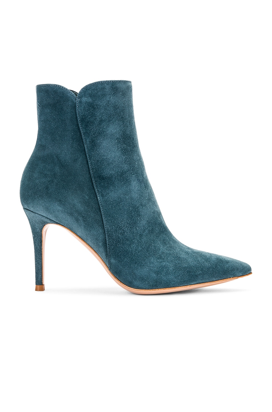 Image 1 of Gianvito Rossi Camoscio Ankle Booties in Amelia