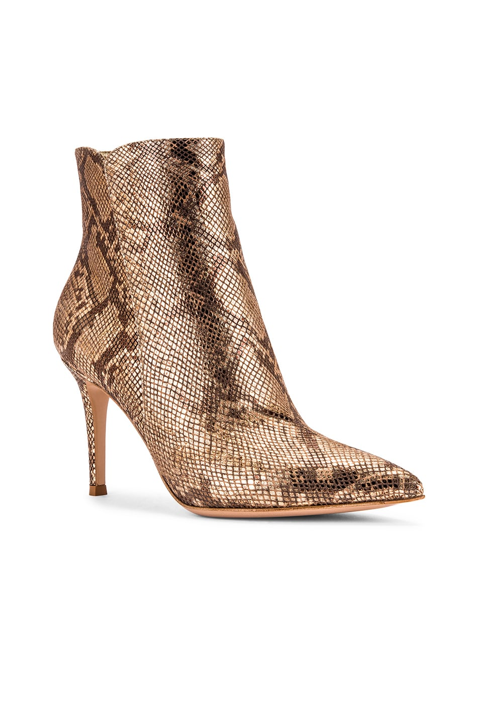 Image 2 of Gianvito Rossi Dallas Ankle Booties in Mekong
