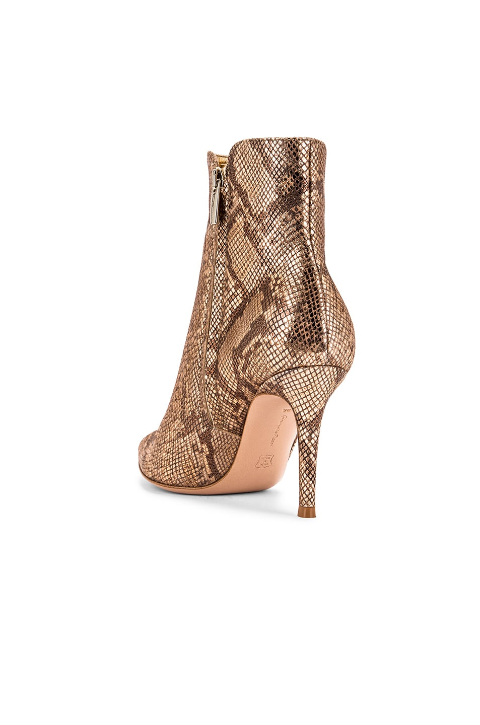 Image 3 of Gianvito Rossi Dallas Ankle Booties in Mekong