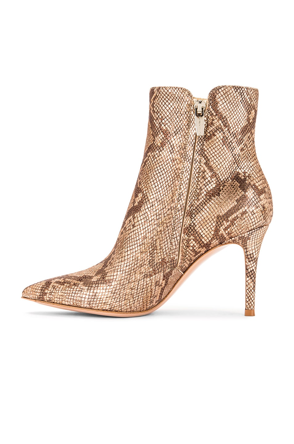 Image 5 of Gianvito Rossi Dallas Ankle Booties in Mekong