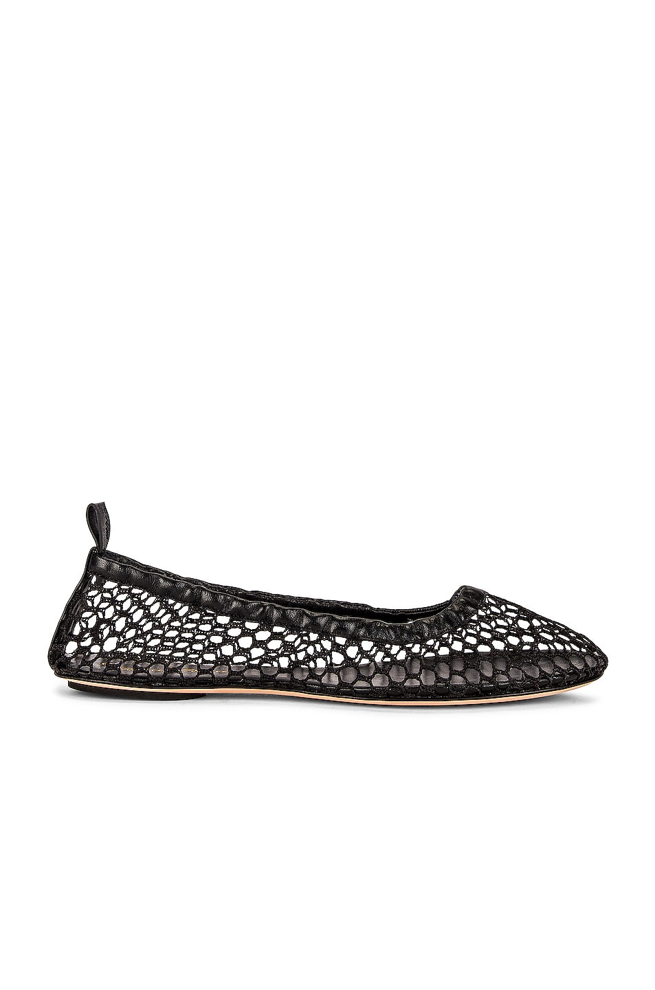 Image 1 of Gianvito Rossi Leather Flats in Black
