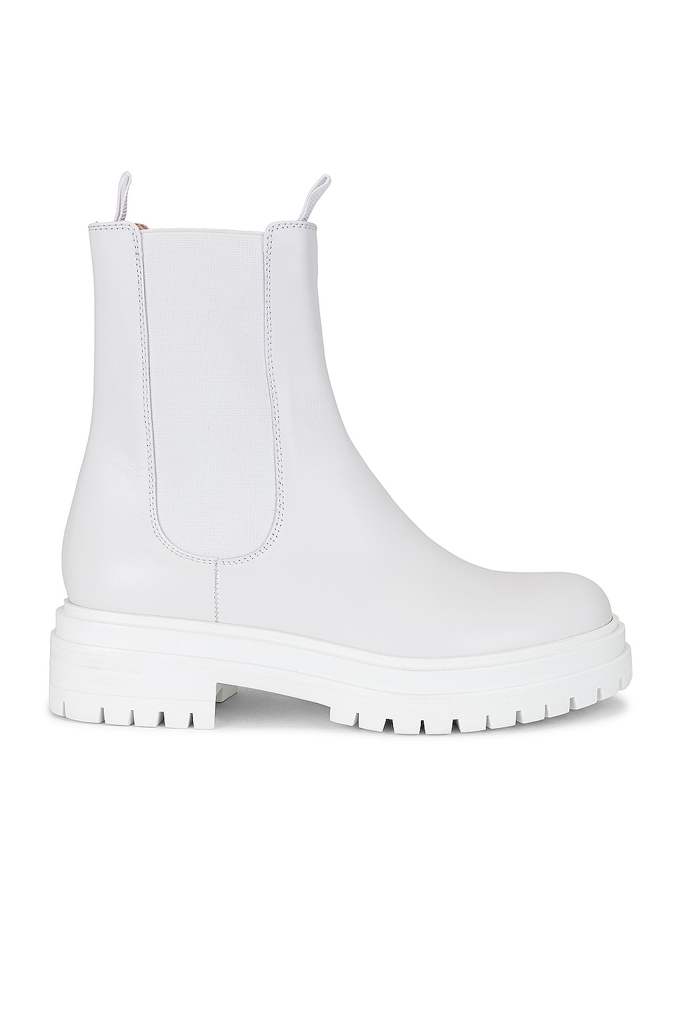 Image 1 of Gianvito Rossi Ankle Boots in White