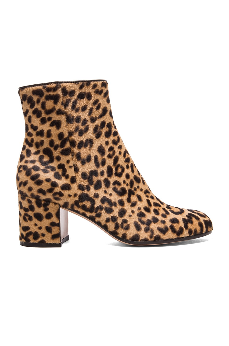 Image 1 of Gianvito Rossi Pony Hair Boots in Leopard