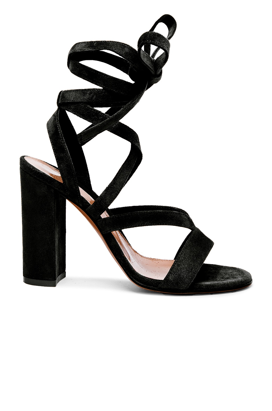 Image 1 of Gianvito Rossi Suede Sandals in Black