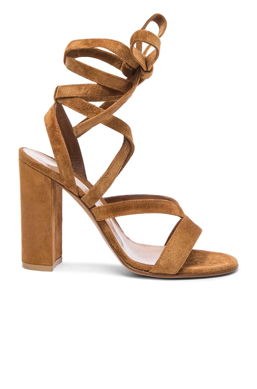 Gianvito Rossi High heel sandals Janis suede lpIWr1XxS
