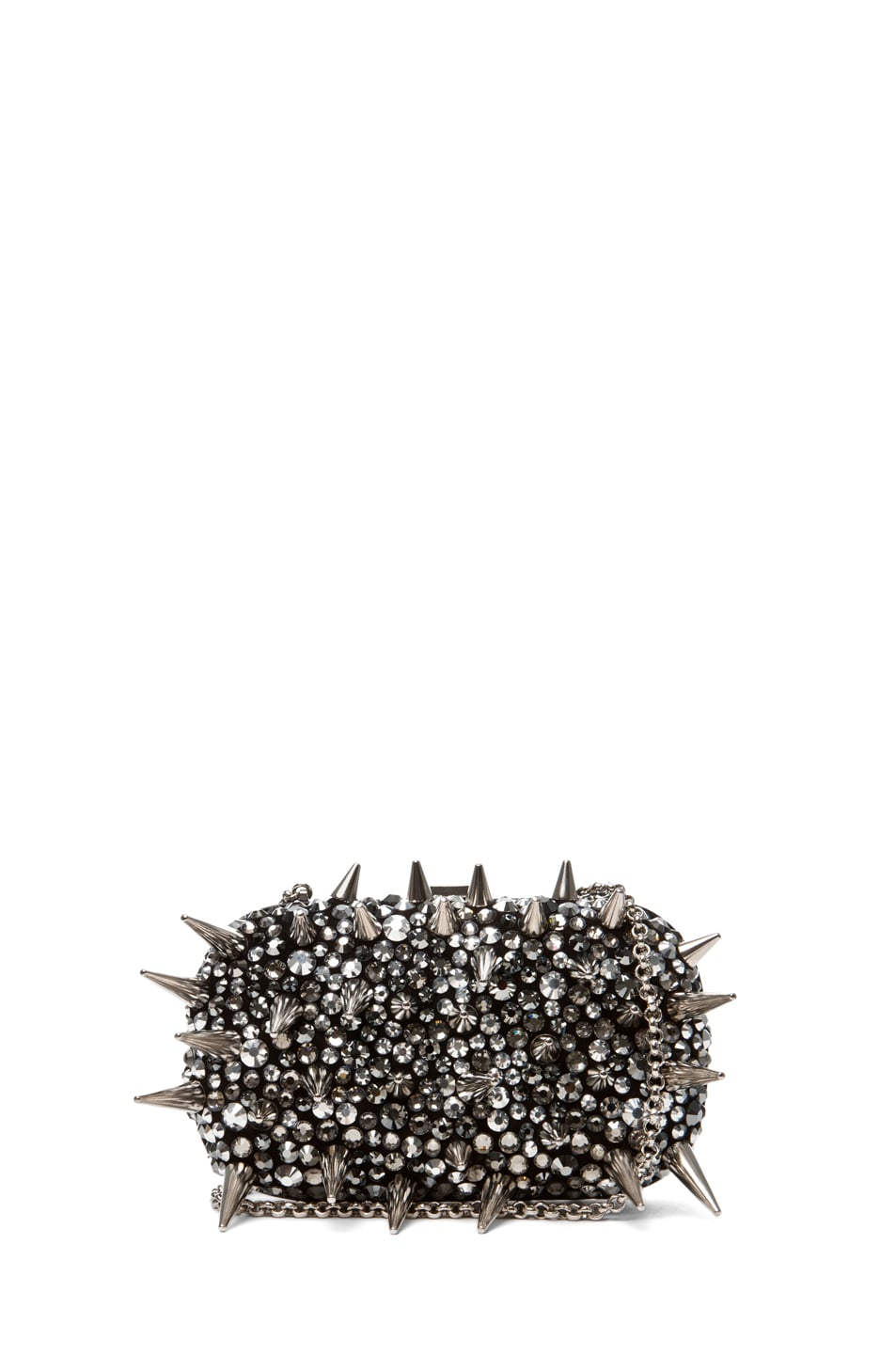 Image 1 of Giuseppe Zanotti Clutch in Pewter