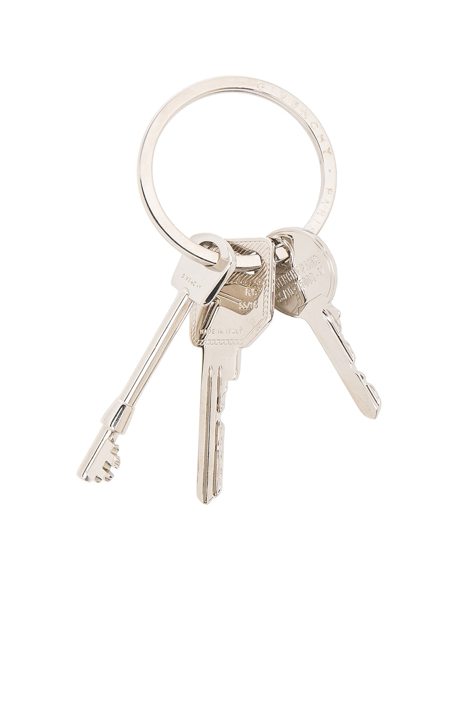 Image 1 of GIVENCHY Keyring in Silver