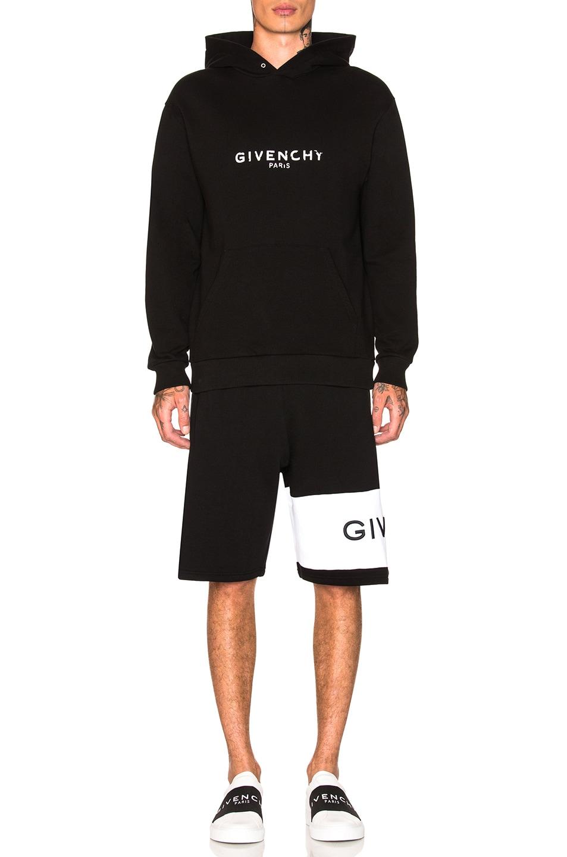 Image 5 of Givenchy Logo Sweatshorts in Black