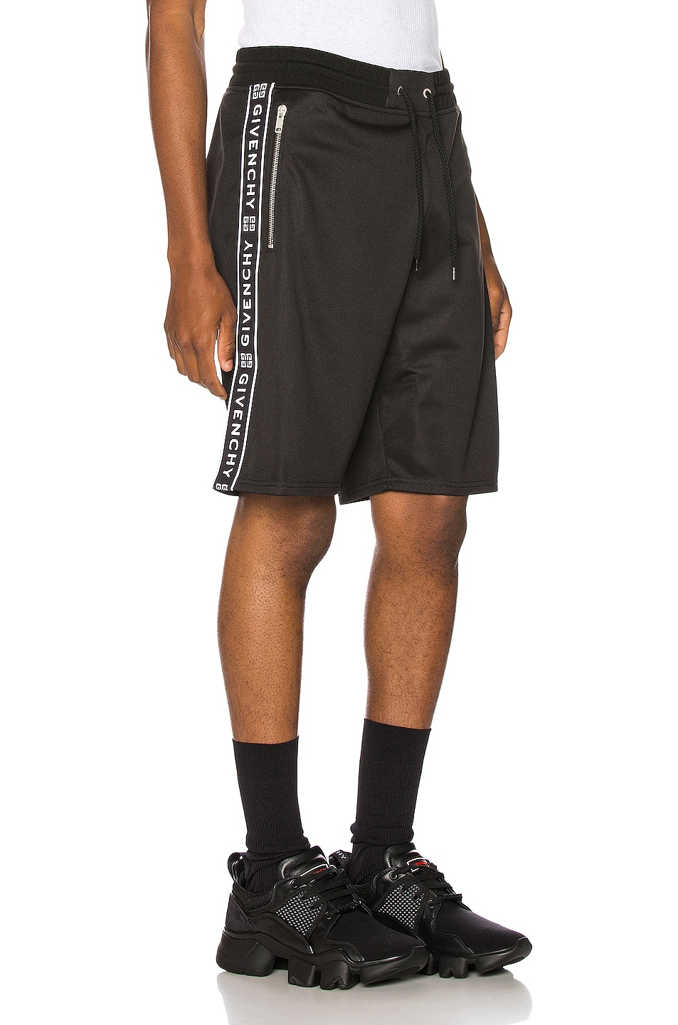 Image 3 of Givenchy Short with Bands in Black