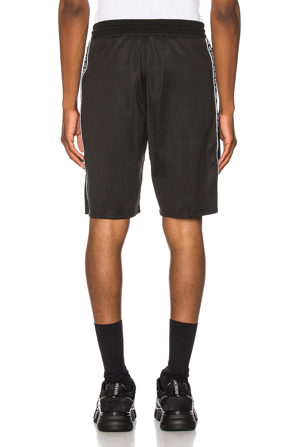 Image 4 of Givenchy Short with Bands in Black