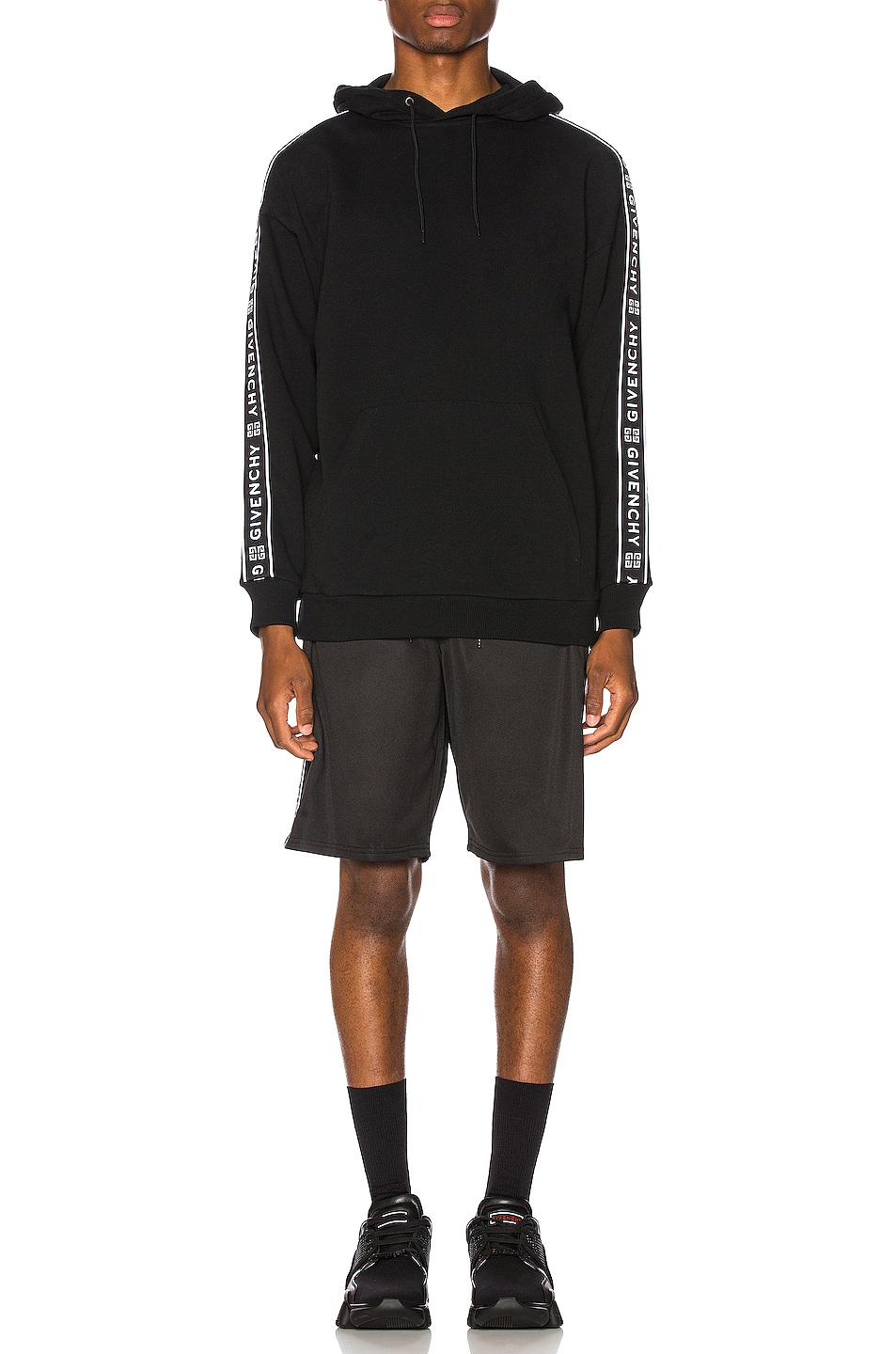 Image 5 of Givenchy Short with Bands in Black