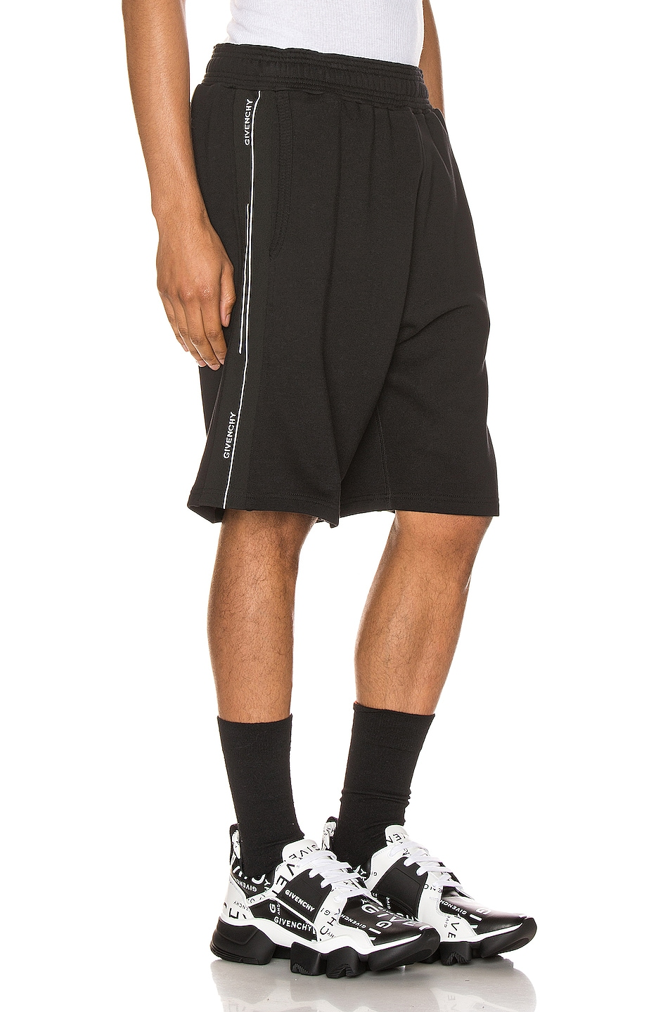 Image 3 of Givenchy Shorts in Black
