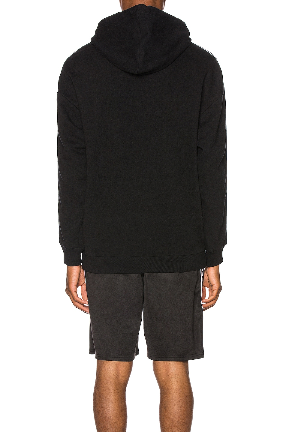 Image 4 of Givenchy Logo Bands Hoodie in Black