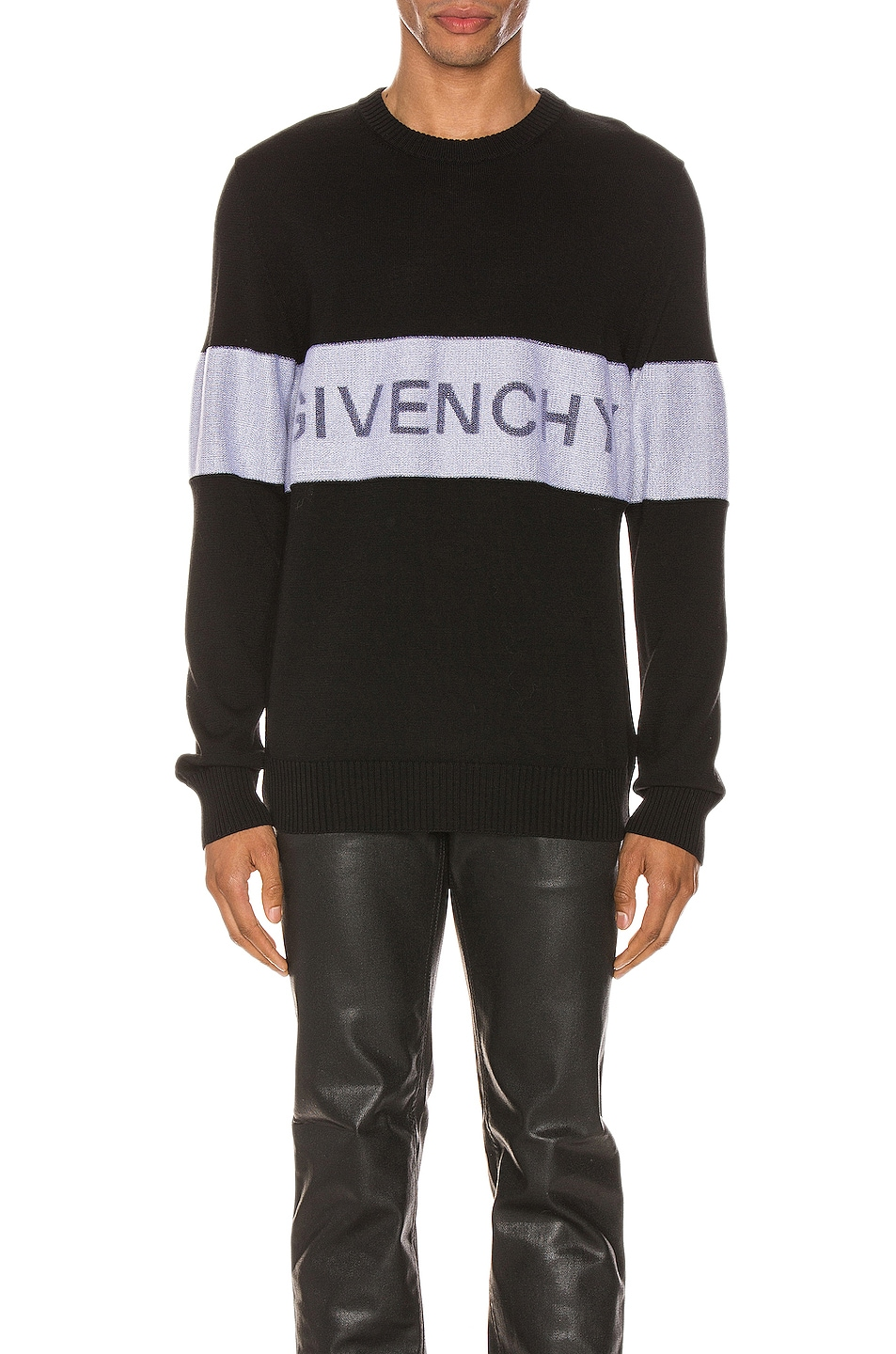 Image 1 of Givenchy Crewneck in Black & White