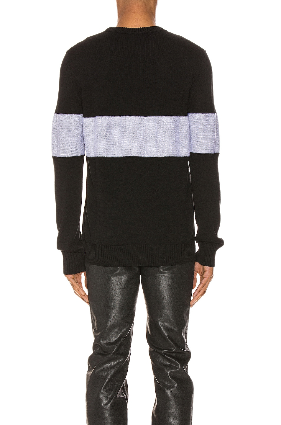 Image 4 of Givenchy Crewneck in Black & White