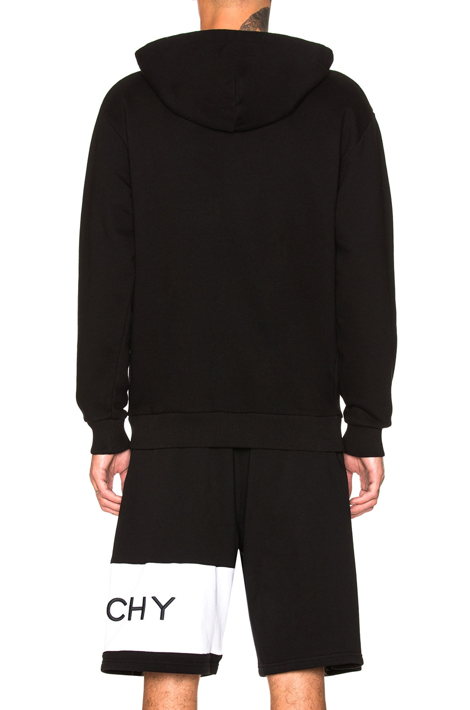 Image 3 of Givenchy Logo Hoodie in Black