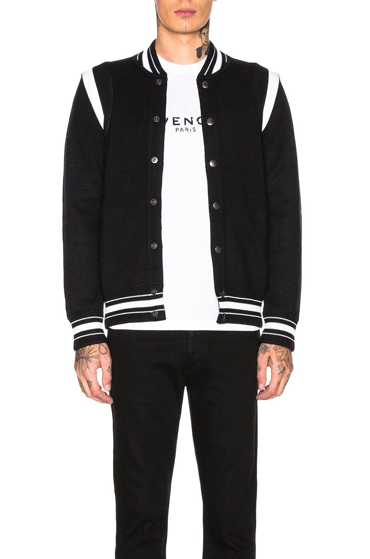 Image 2 of Givenchy 4G Bomber Jacket in Black