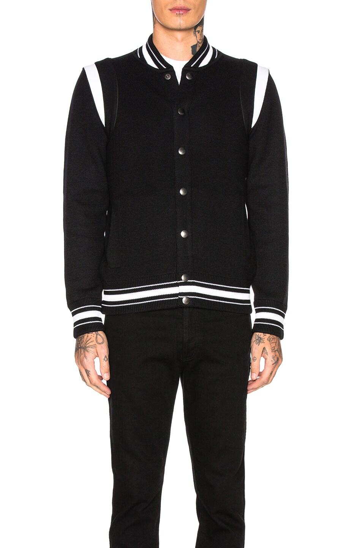 Image 3 of Givenchy 4G Bomber Jacket in Black