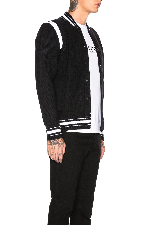 Image 4 of Givenchy 4G Bomber Jacket in Black