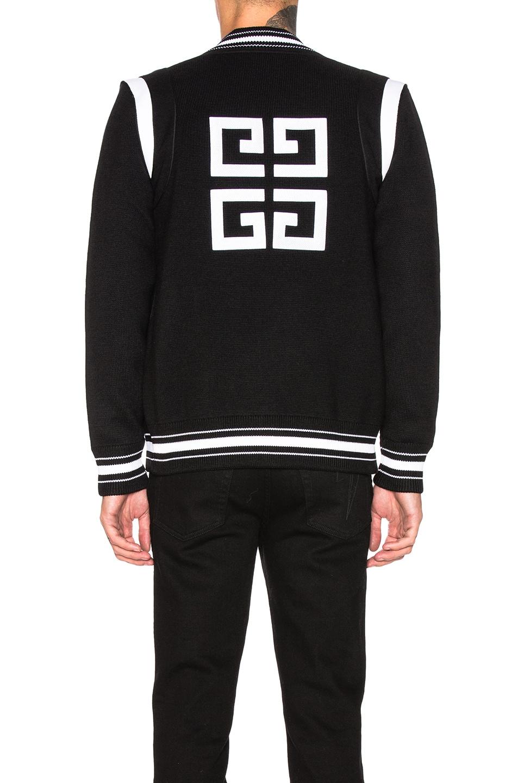 Image 5 of Givenchy 4G Bomber Jacket in Black