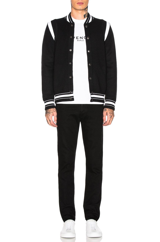 Image 6 of Givenchy 4G Bomber Jacket in Black