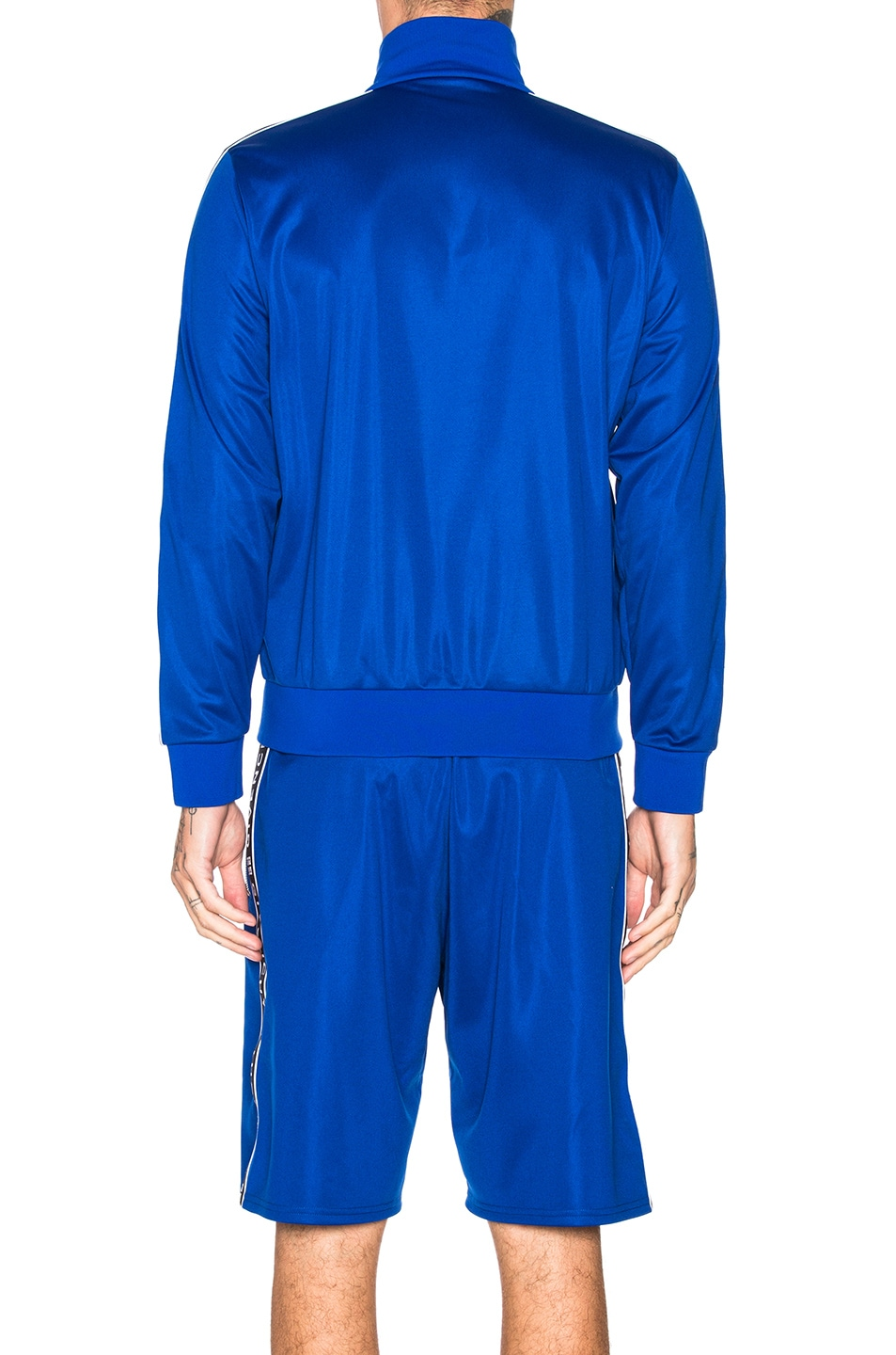 Image 5 of Givenchy Tape Track Jacket in Electric Blue