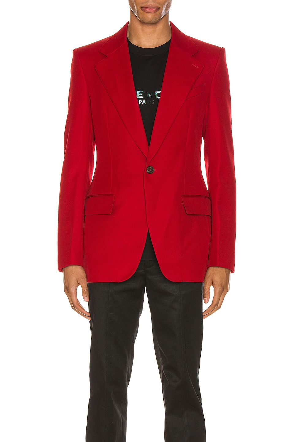 Image 1 of Givenchy Structured Jacket in Red