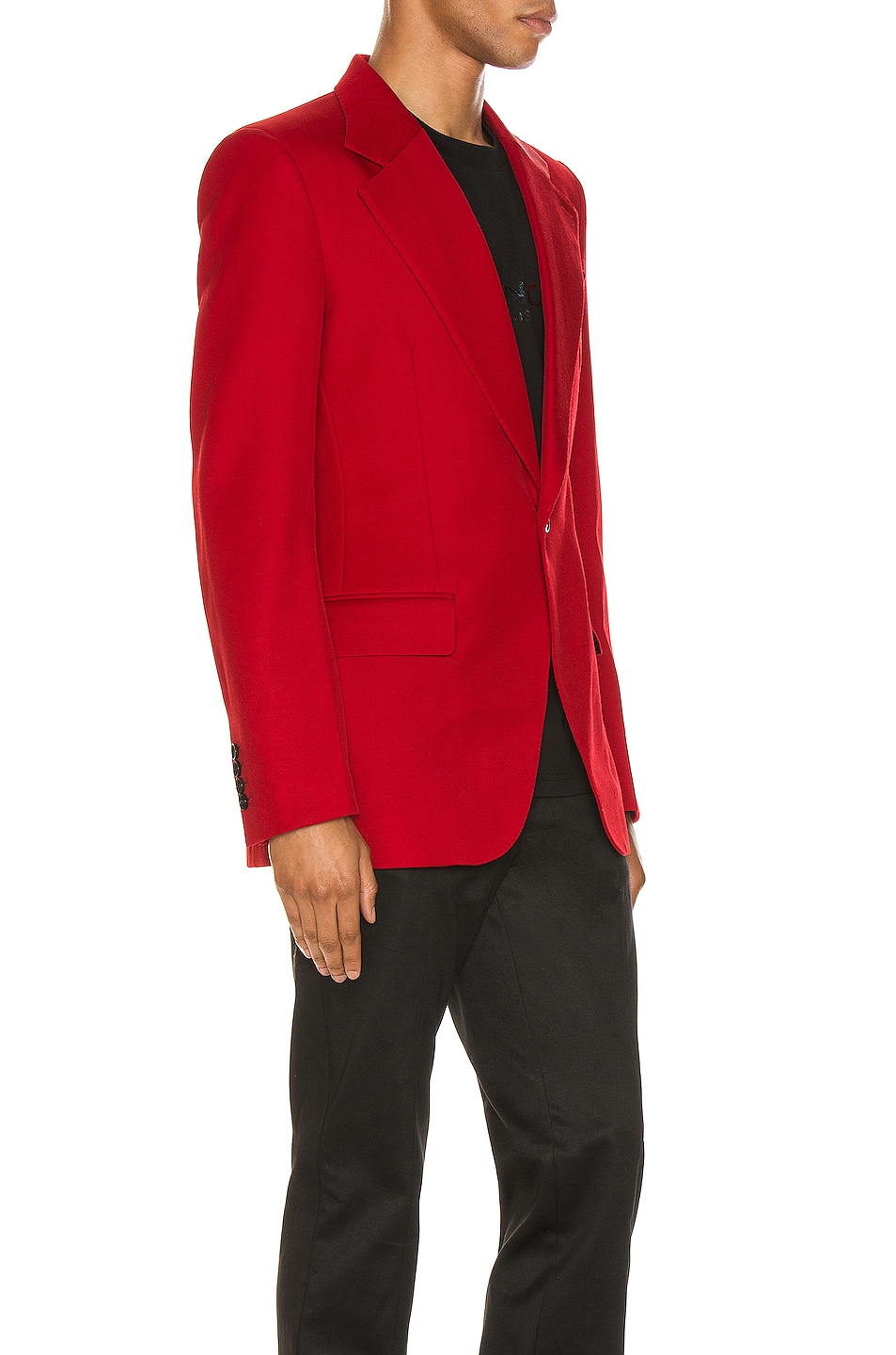 Image 3 of Givenchy Structured Jacket in Red