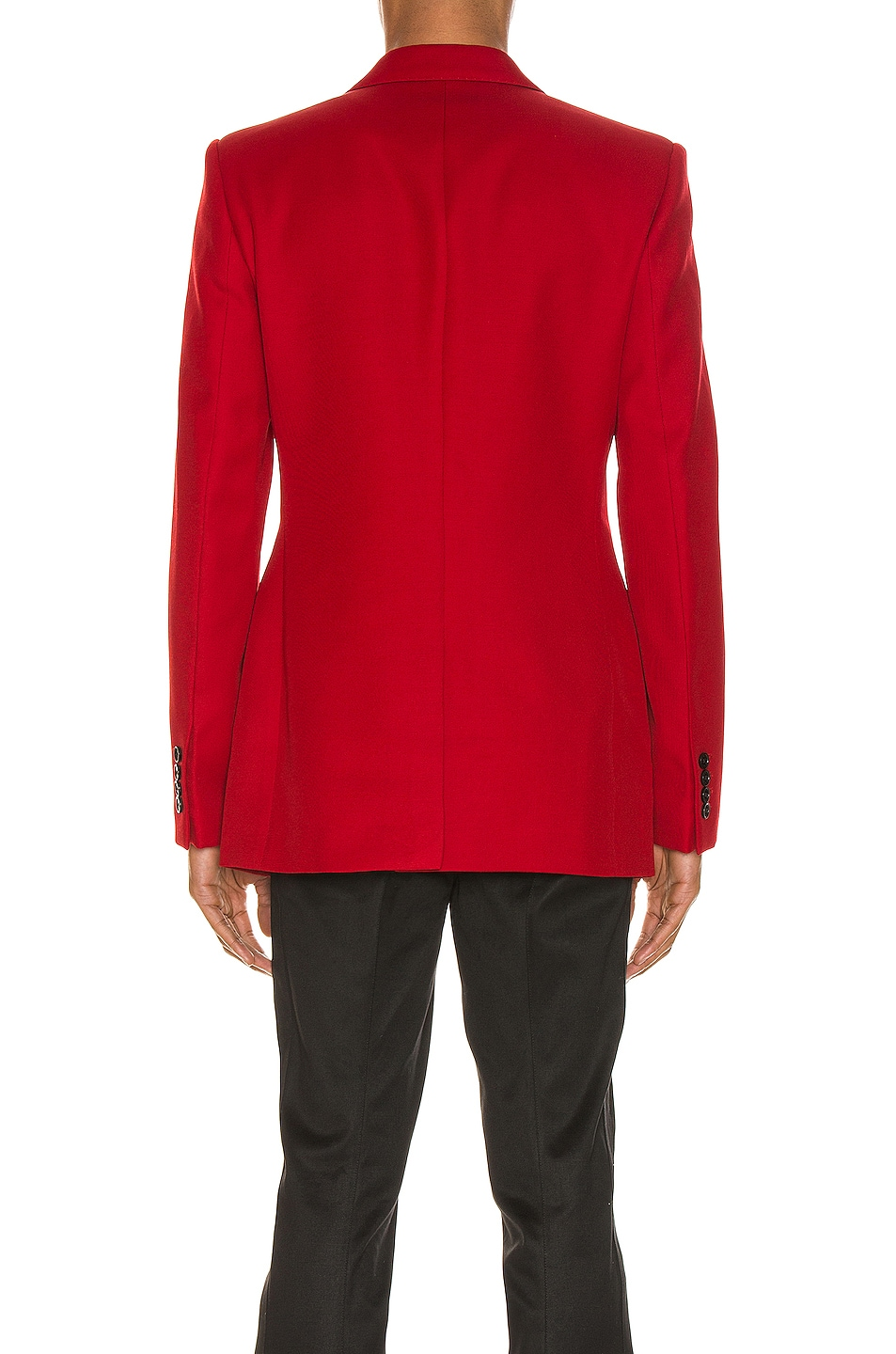 Image 4 of Givenchy Structured Jacket in Red
