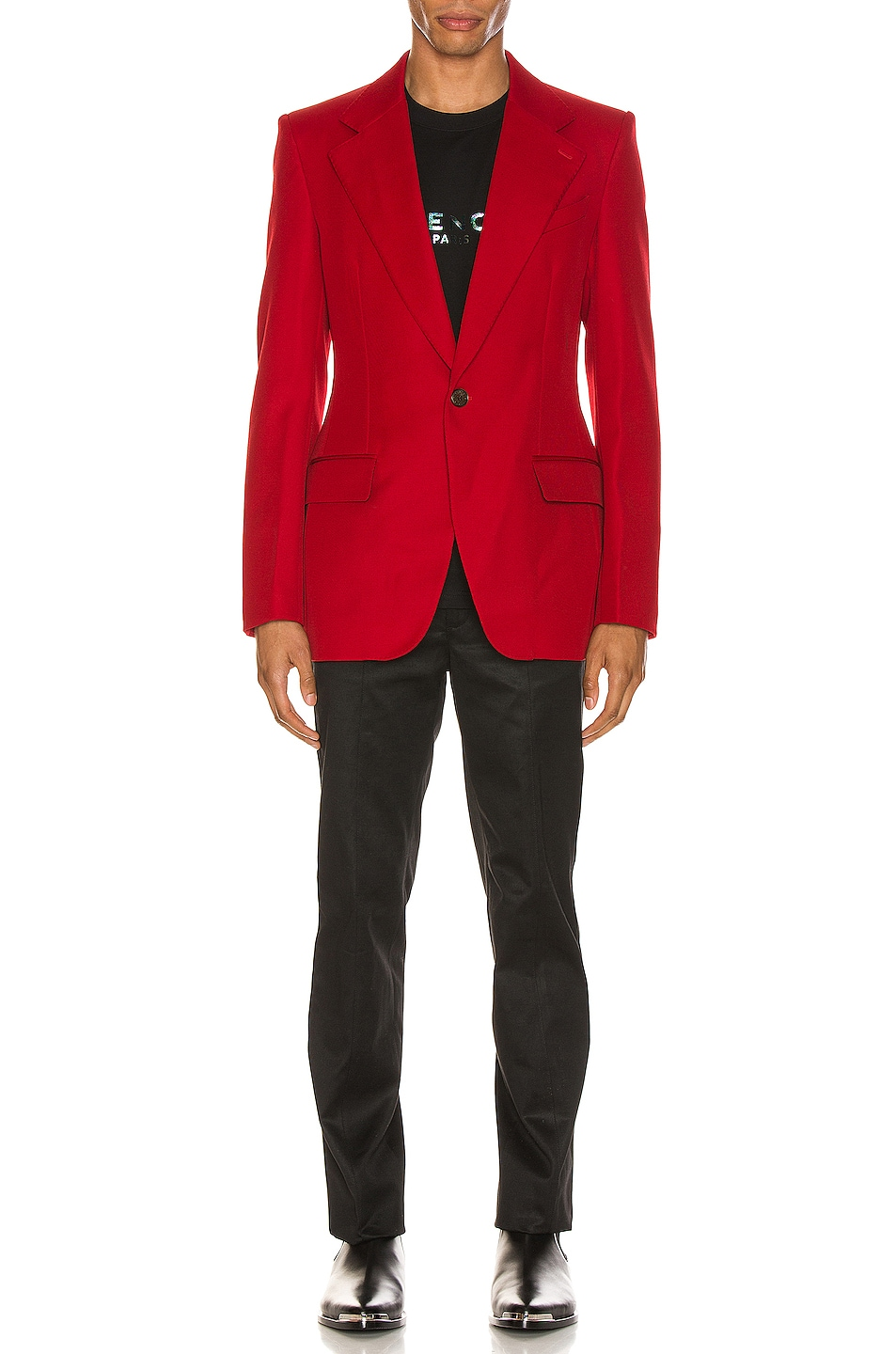Image 5 of Givenchy Structured Jacket in Red