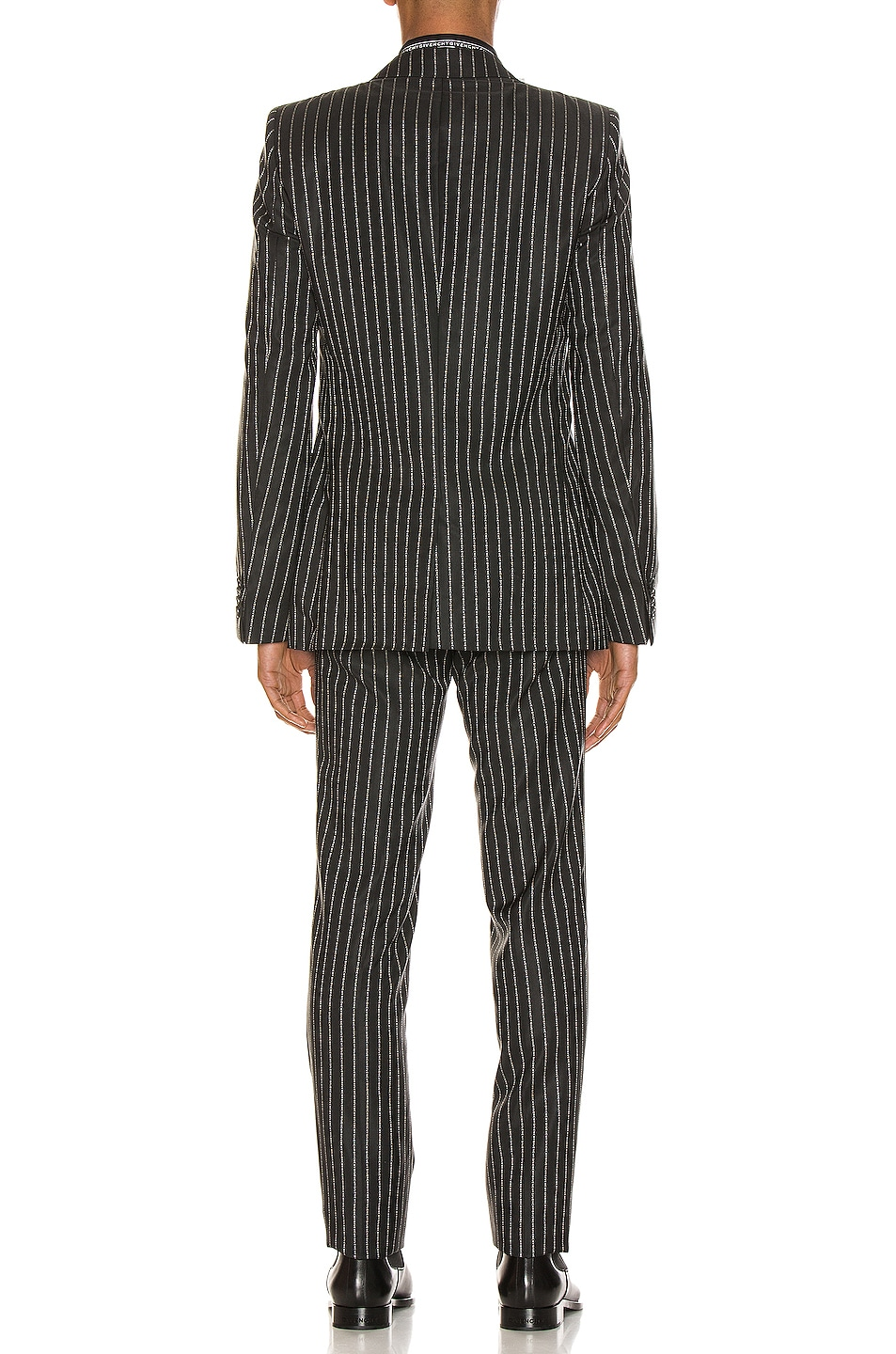 Image 4 of Givenchy Blazer & Trouser Suit in Black & White