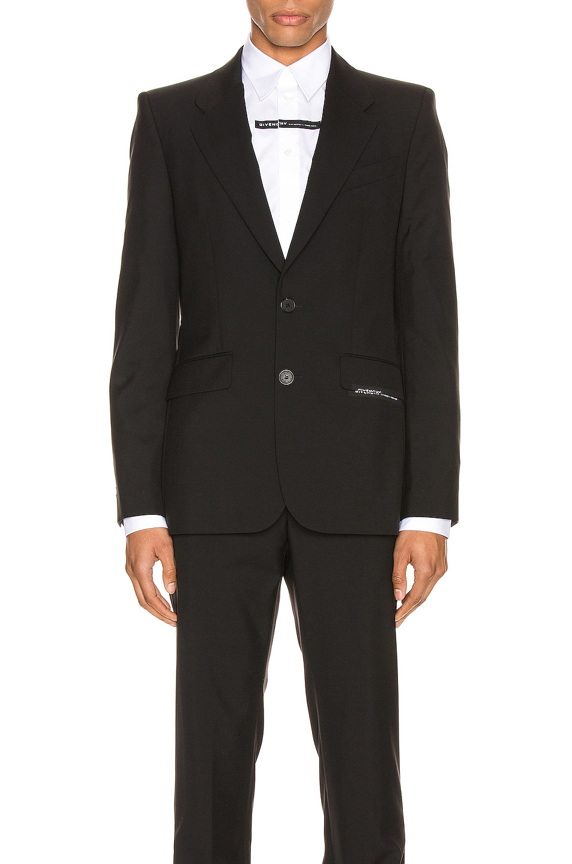 Image 1 of Givenchy Blazer in Black