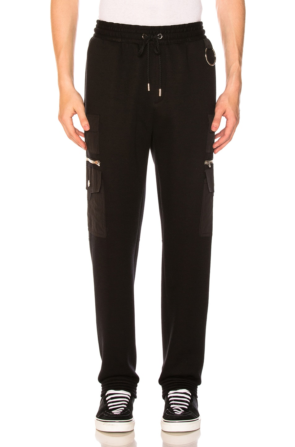 Image 1 of Givenchy Cargo Pocket Pants in Black