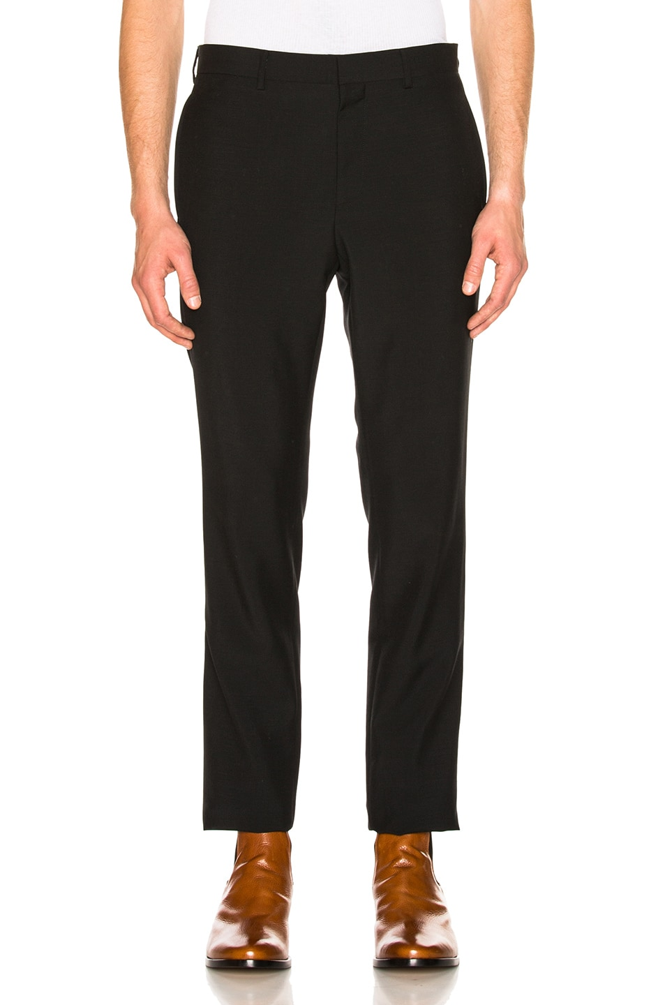 Image 1 of Givenchy Wool Trousers in Black