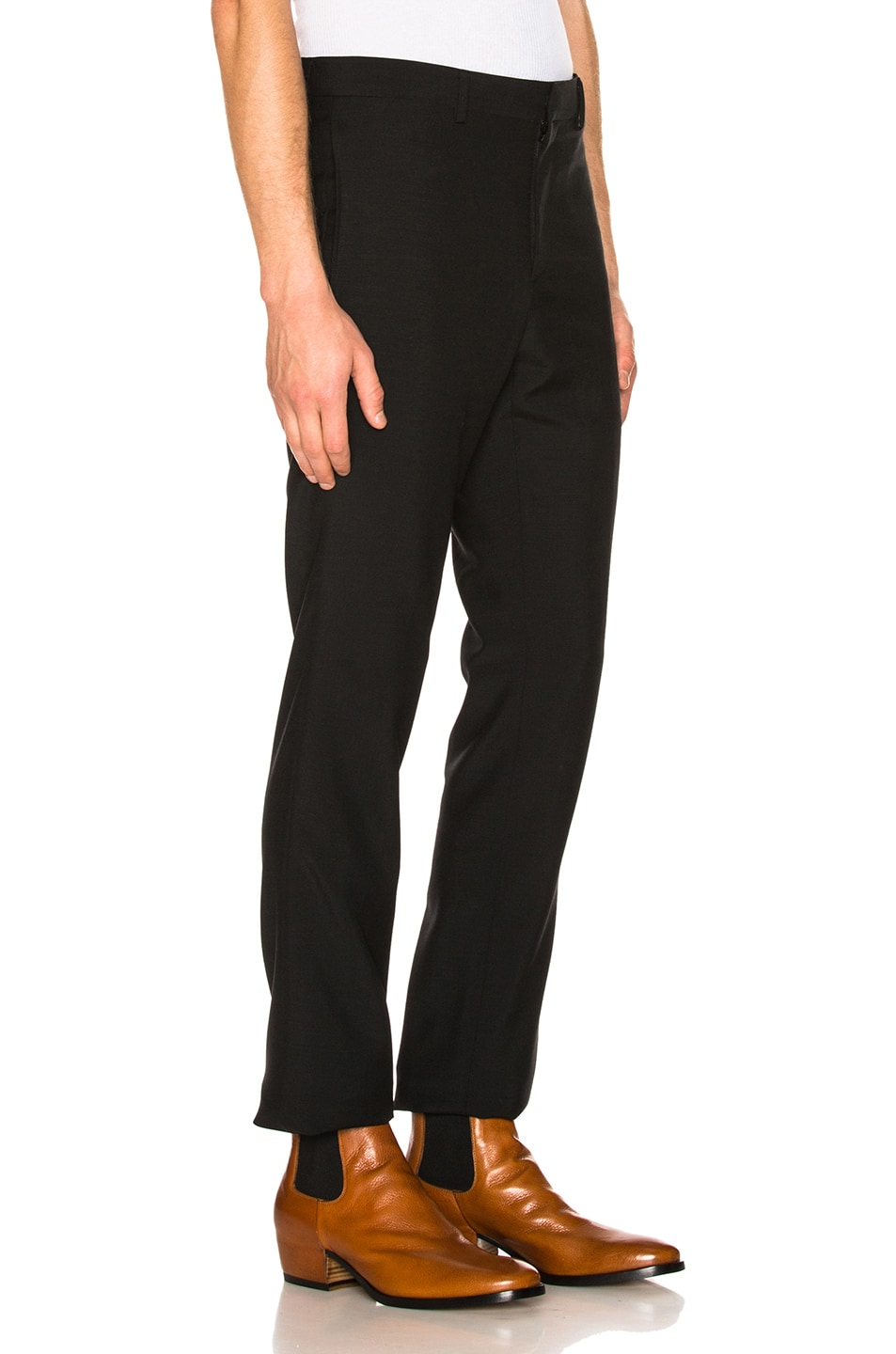 Image 2 of Givenchy Wool Trousers in Black