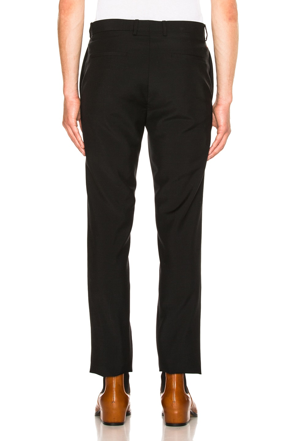 Image 3 of Givenchy Wool Trousers in Black