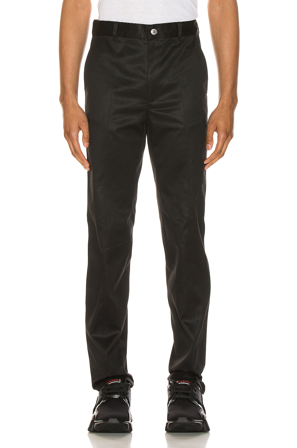 Image 1 of Givenchy Slim Fit Pants in Black
