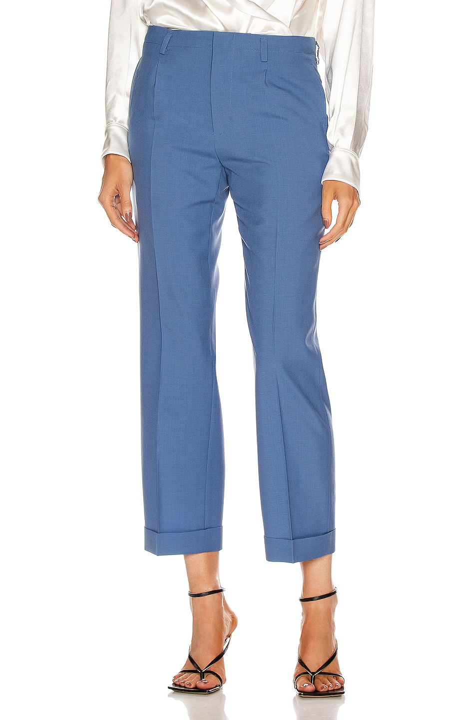 Image 1 of Givenchy Slim Fit Pants in Steel Blue