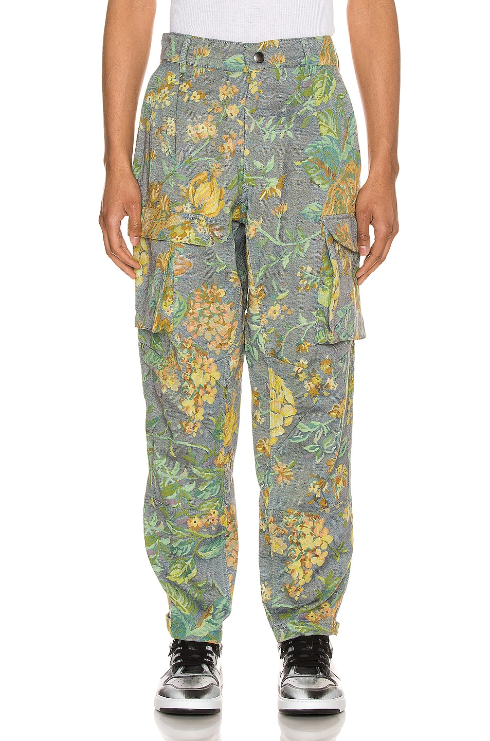 Image 1 of Givenchy Cargo Pants in Smoke Grey