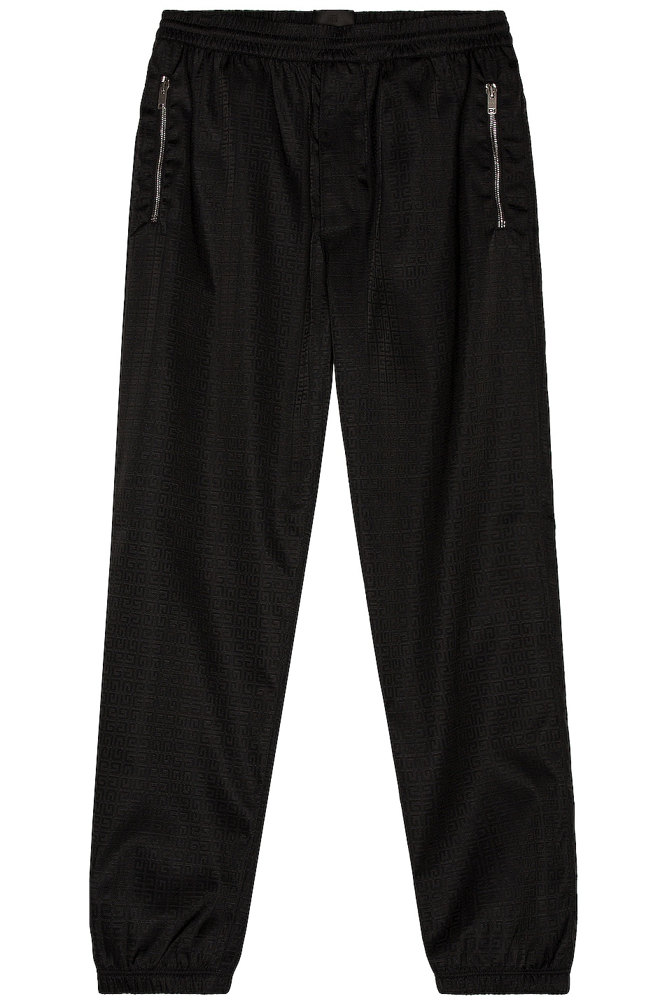 Image 1 of Givenchy 4G Nylon Jacquard Trouser in Black