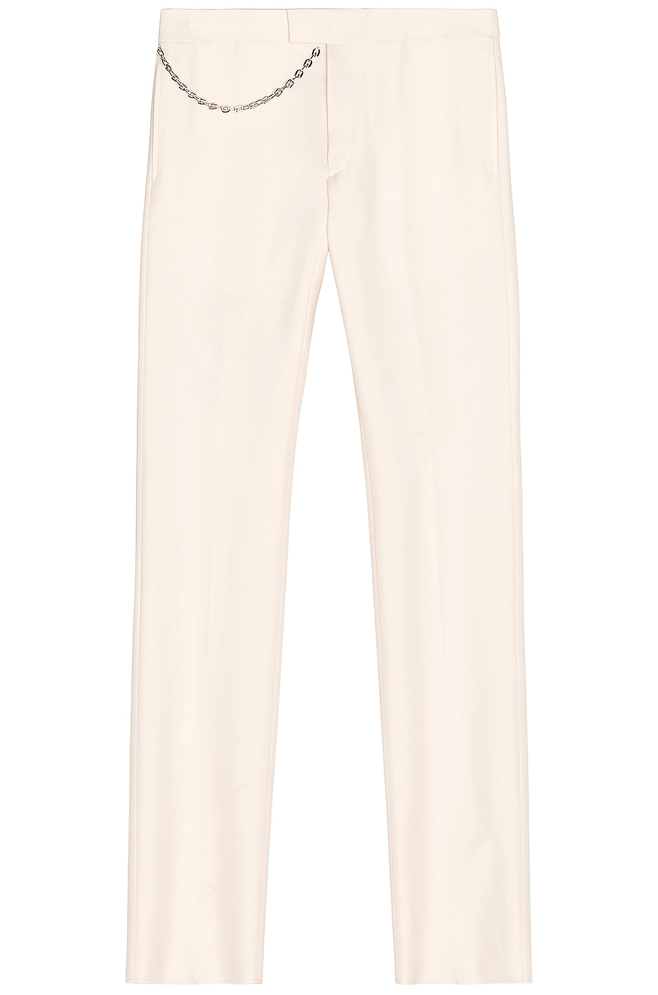 Image 1 of Givenchy Dry Wool Trousers in Dust Grey