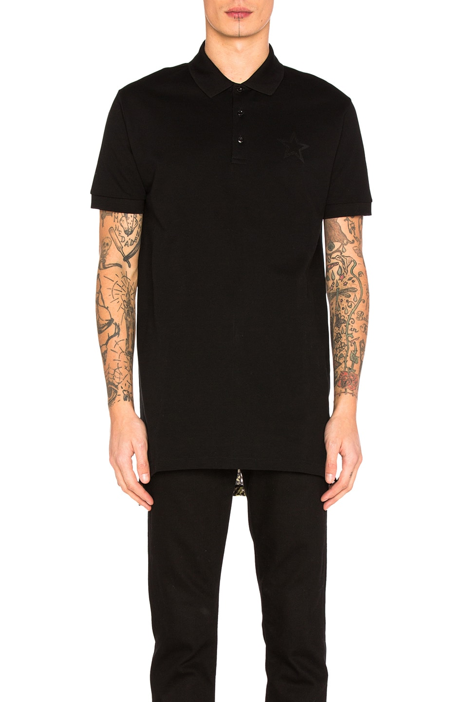 619ea04b Image 1 of Givenchy Polo Shirt in Black