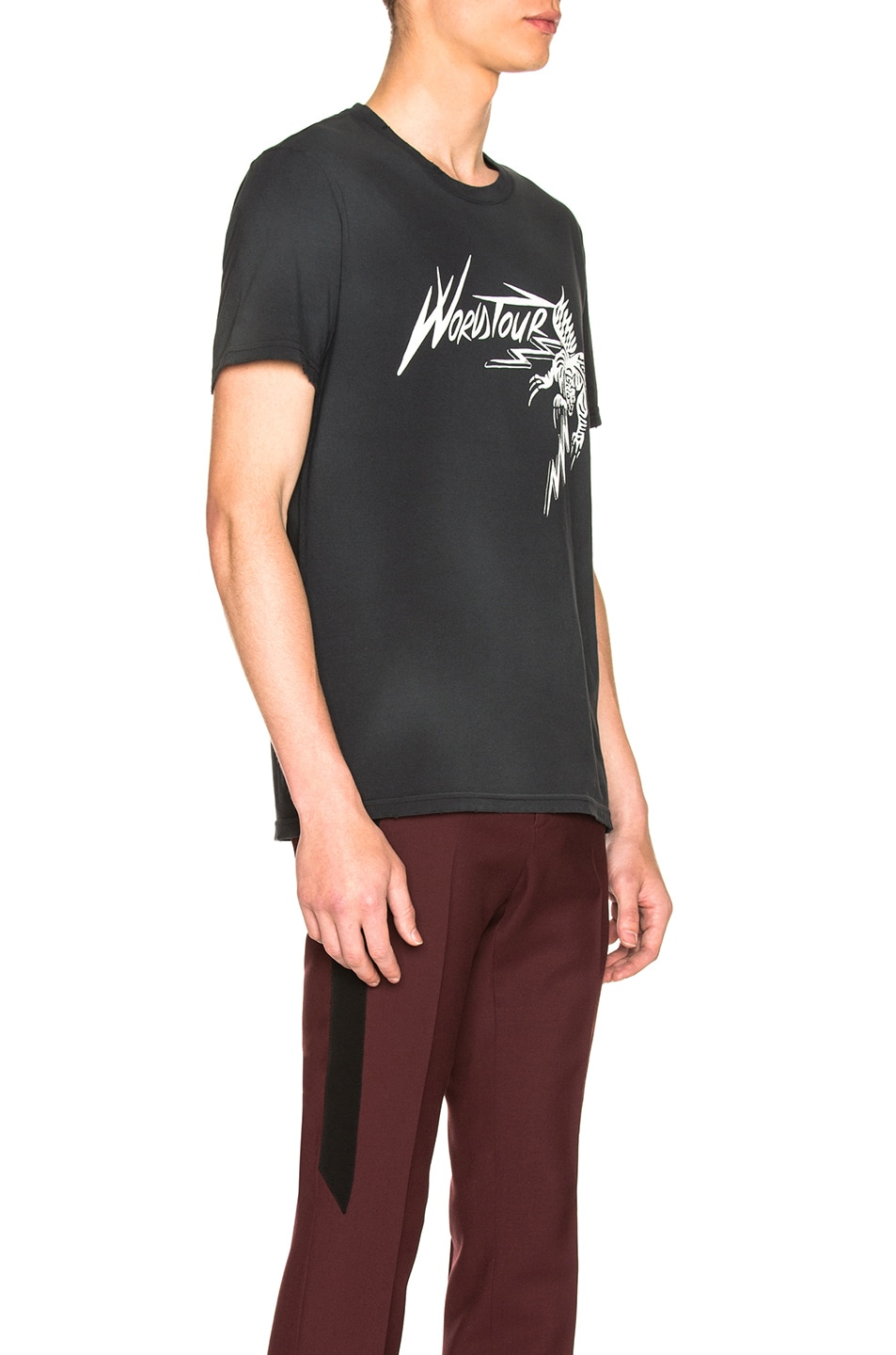 Image 2 of Givenchy World Tour Tee in Black