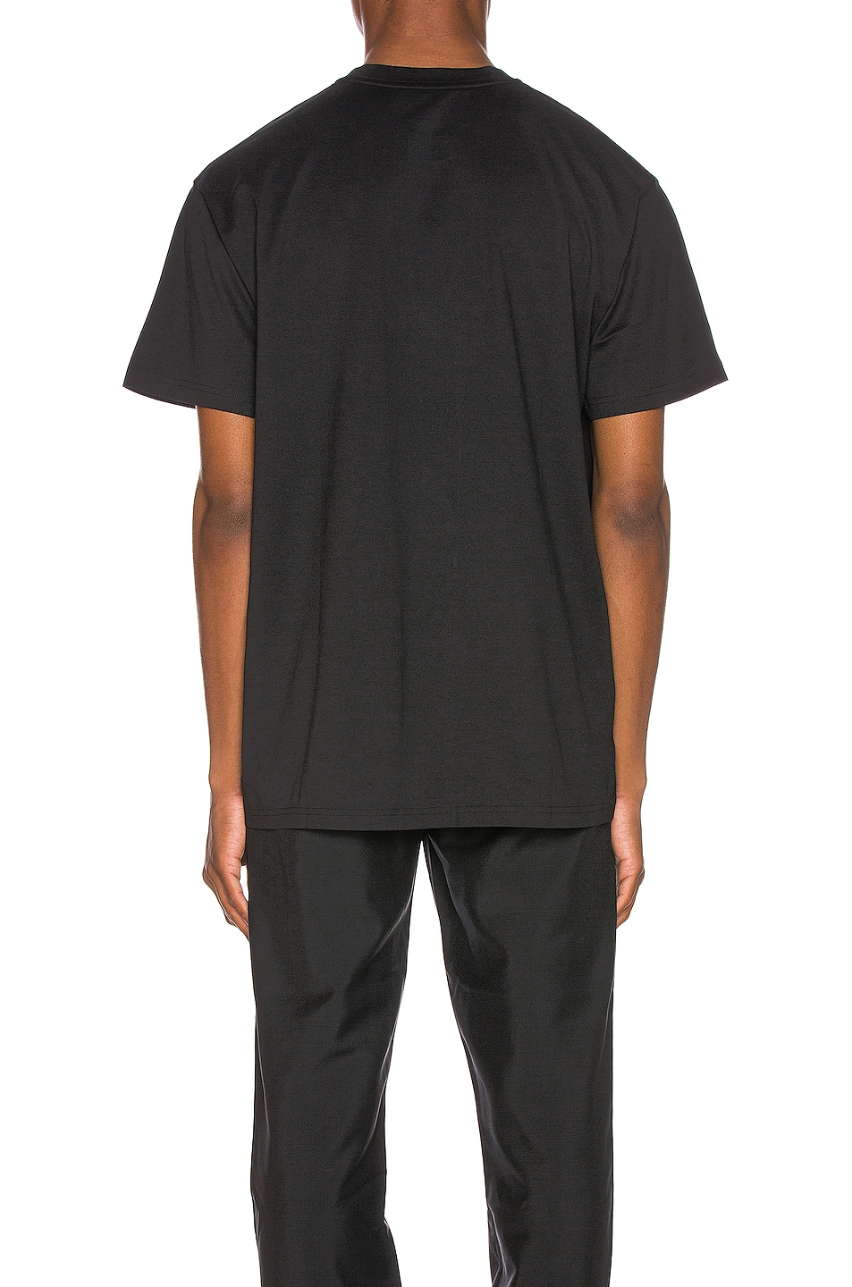 Image 3 of Givenchy Distressed Logo Tee in Black