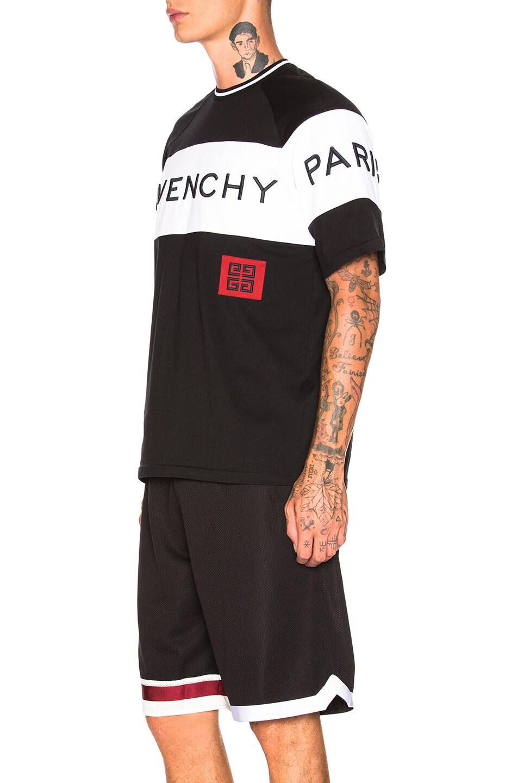 Givenchy Color Block Logo Tee Black good