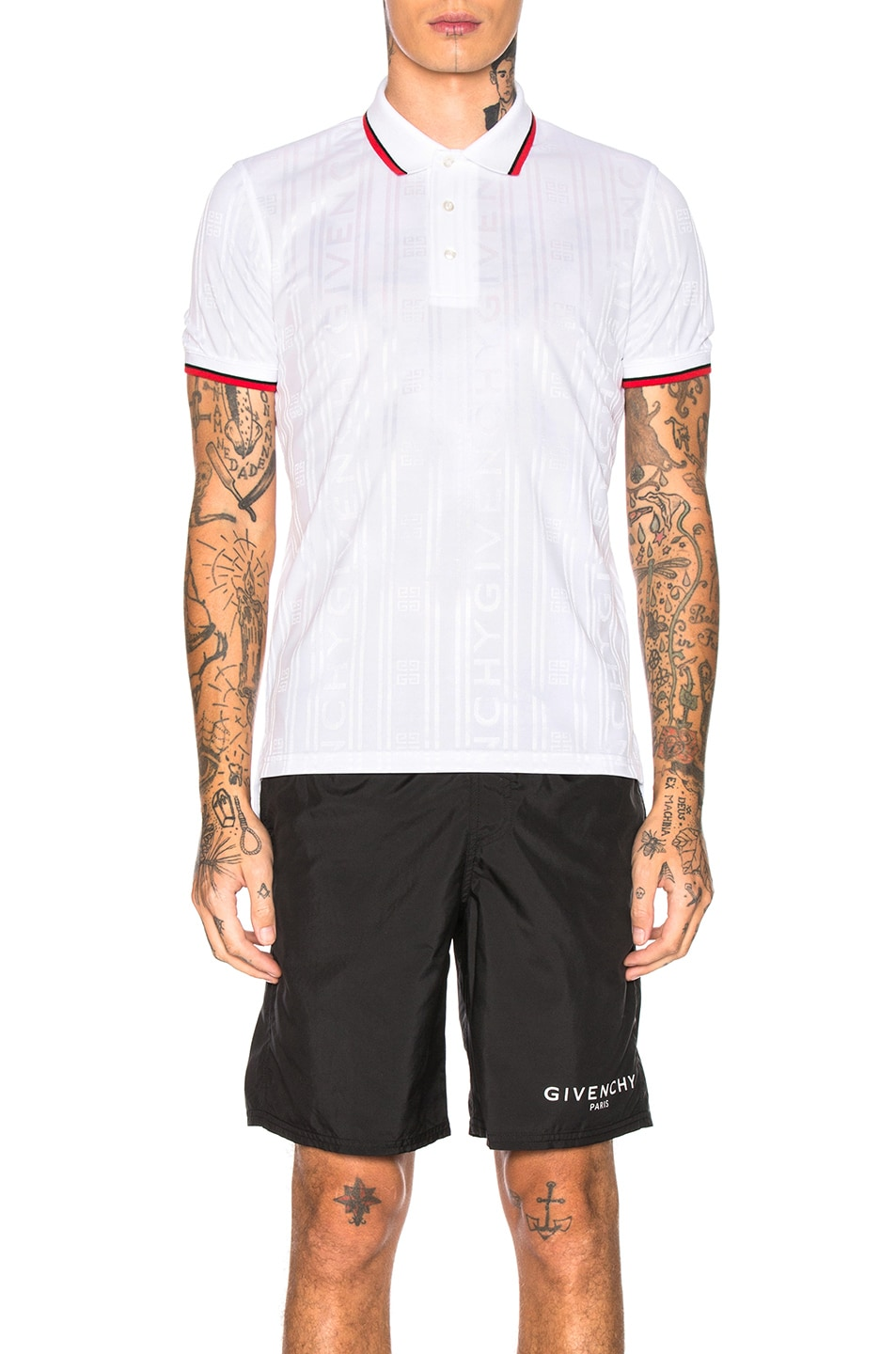 Image 1 of Givenchy Polo in White
