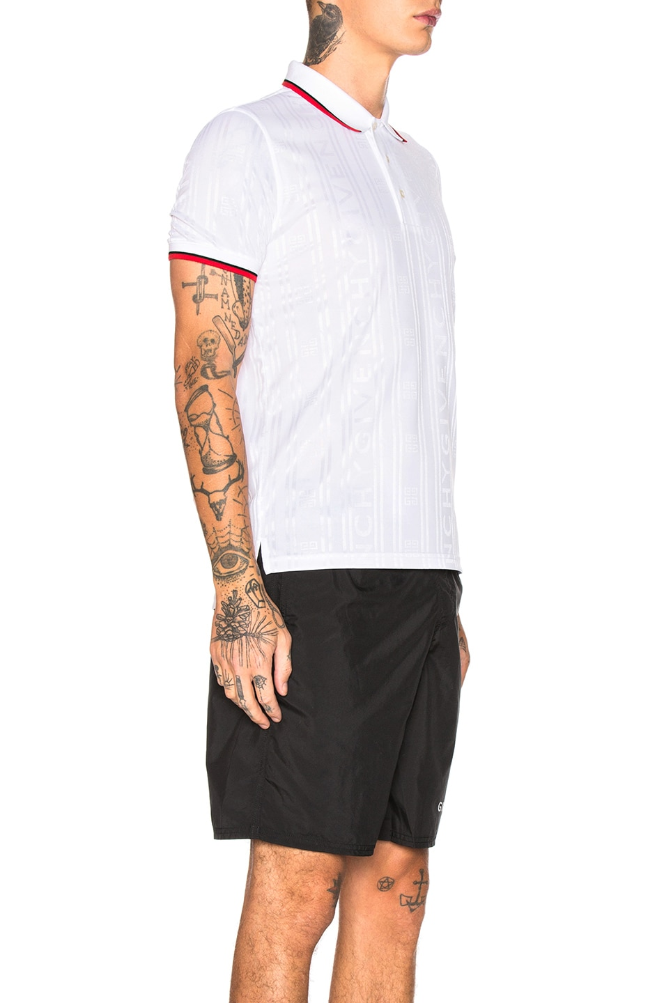 Image 2 of Givenchy Polo in White