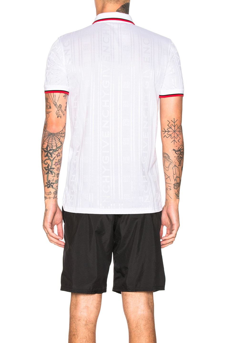 Image 3 of Givenchy Polo in White