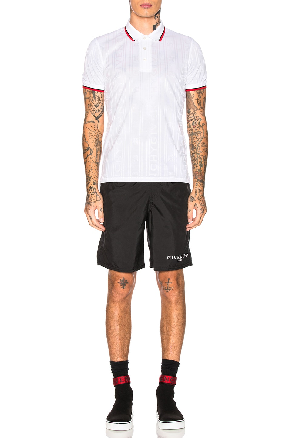 Image 4 of Givenchy Polo in White